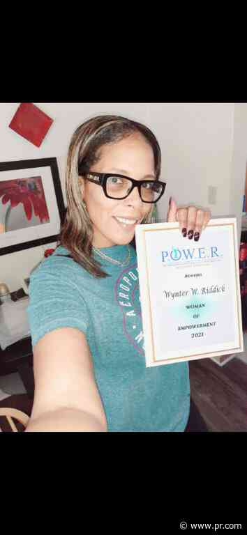 Wynter W. Riddick Honored as a Woman of the Month for May 2021 by P.O.W.E.R.-Professional Organization of Women of Excellence Recognized