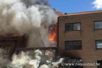Uitslaande brand in pand op Stillemanssite