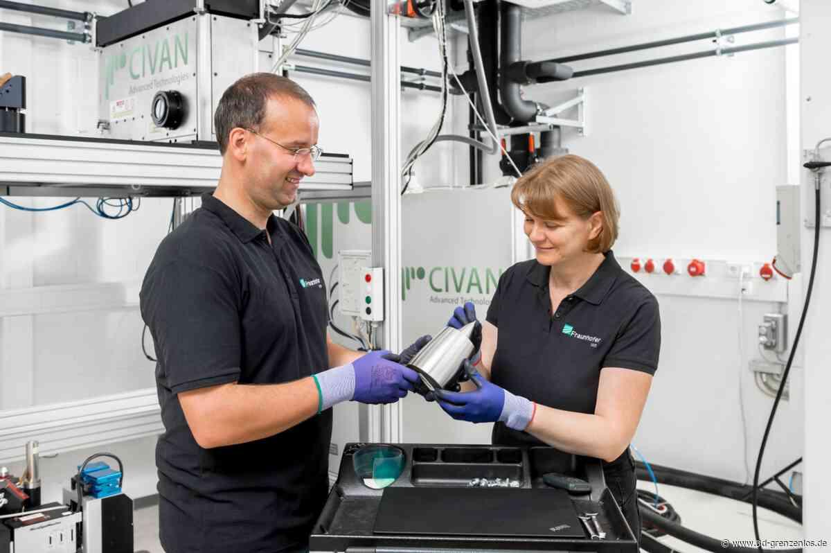 Fraunhofer IWS untersucht AM-Anwendungen mit dem Coherent Beam Combining (CBC)-Verfahren - 3D-grenzenlos Magazin