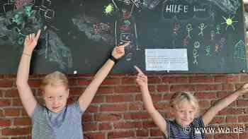 Kinder sammeln in Drensteinfurt für Hochwasser-Opfer - wa.de
