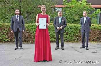 Wirtschaftsschule Neuenmarkt - Staatspreis für Anna Greim - Frankenpost