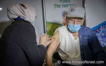Israelis age 60 and up to start getting third coronavirus vaccine dose next week - The Times of Israel