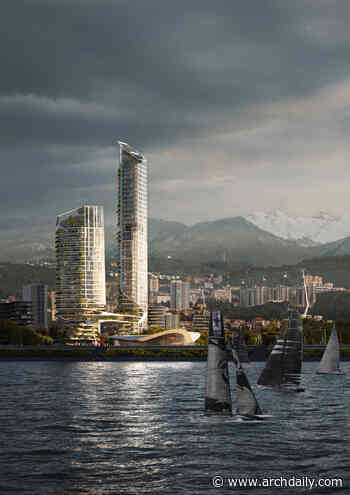 UNStudio's Masterplan Reshapes Sochi Waterfront into an Inclusive Neighbourhood and a Year-Round Destination - ArchDaily