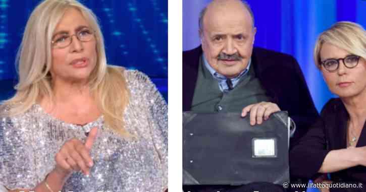 """Mara Venier scrive una lettera a Maria De Filippi e Maurizio Costanzo: """"Mi vengono in mente alcune parole…"""""""