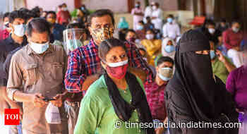 Coronavirus live updates: Kerala records 22,000 Covid cases for 3rd day - Times of India