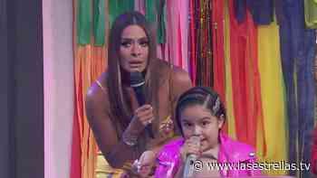 """Galilea Montijo hace reír a niña de 'Los Chiquillos de Hoy': """"No sea tan golosa como yo"""" - Las Estrellas TV"""