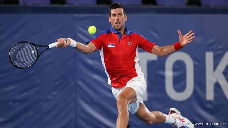 Olympia 2021: Novak Djokovic lässt Kei Nishikori keine Chance und stürmt ins Halbfinale - Eurosport DE