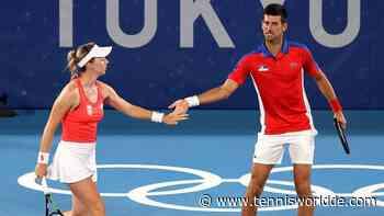 Tokio 2020: Novak Djokovic und Nina Stojanovic starten erfolgreich im Mixed-Doppel - Tennis World DE