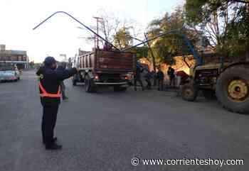 Obras públicas en diversos sectores de Mercedes - Interior - CorrientesHoy.com