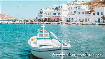 Covid-19: Greece's south Aegean islands marked 'dark red', travel discouraged - Hindustan Times