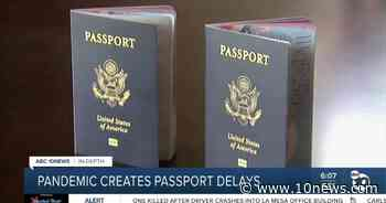 In-Depth: Passport delays create travel problems - 10News