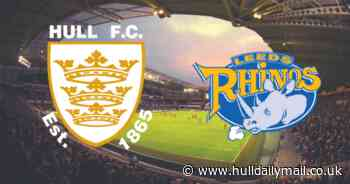 Hull FC v Leeds Rhinos live updates and match action from the MKM Stadium