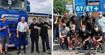 Spenden aus Gieboldehausen und Bovenden erreichen die Flutregion - Göttinger Tageblatt