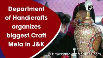 Department of Handicrafts organizes biggest Craft Mela in J&K