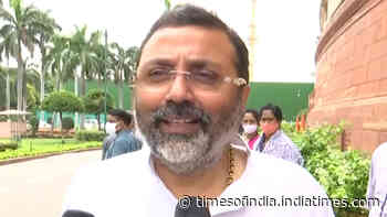 Mahua Moitra should apologise for calling me 'Bihari Gunda': Nishikant Dubey
