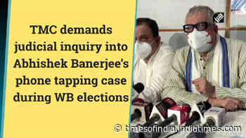 TMC demands judicial inquiry into Abhishek Banerjee's phone tapping case during WB elections