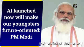 AI launched now will make our youngsters future-oriented: PM Modi