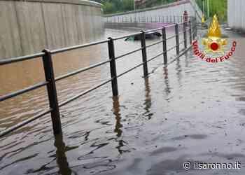 Maltempo, solo qualche doccia a Saronno; grossi guai a Venegono Superiore - ilSaronno