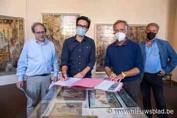 """Tegels Hemiksems museum gaan op reis naar Duitsland: """"de lijm voor meer internationale uitstraling"""""""