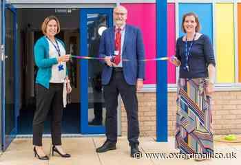 Vaccine chief opens new John Blandy Primary School building