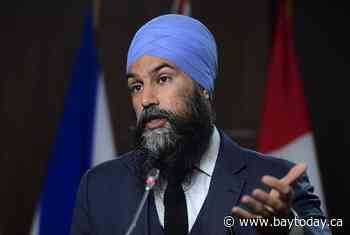Singh meets with Indigenous leaders at former residential school