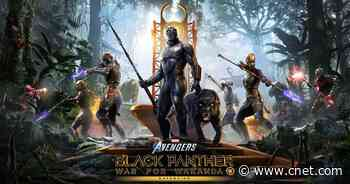 Marvel's Avengers lets you play as Black Panther in War for Wakanda expansion     - CNET