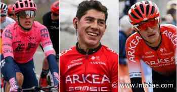 Además de Egan Bernal, tres colombianos confirmados para la Vuelta a Burgos - infobae