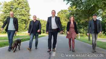 Es sind fünf Kandidaten - WESER-KURIER
