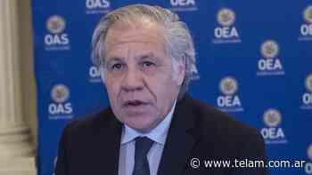 El secretario general de la OEA, positivo en coronavirus - Télam