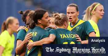 Matildas' mantra is 'one day better'. That one day is today