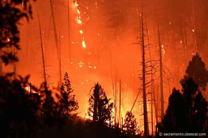Smoke Drifts Into The Valley As Dixie Fire Grows To 221,504 Acres