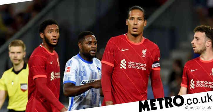Virgil van Dijk and Joe Gomez return from injury in Liverpool friendly defeat to Hertha Berlin