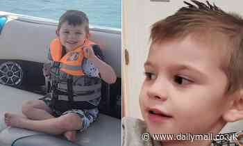 Missing Utah boy, 4, is FOUND DEAD in his toy chest