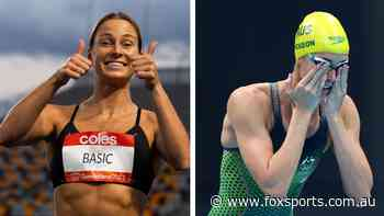Tokyo Olympics 2021, TV schedule, medal tally, table, Australians in action, day 7, swimming finals, what time do the athletics start