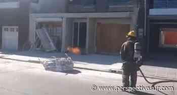 Tensión en un edificio de Quilmes centro tras un escape de gas - Perspectiva Sur
