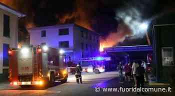 Brugherio, incendio alla Magniplast: nessun danno alla qualità dell'aria - Fuoridalcomune.it