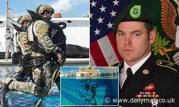 PICTURED: Special Forces Staff Sergeant Micah E. Walker dies during underwater combat training