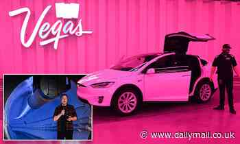 Las Vegas Loop drivers banned from discussing crashes and must praise boss Elon Musk to riders