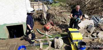 Freiwilliger Einsatz: Feuerwehrleute aus dem Landkreis Heidenheim leisteten Hochwasserhilfe - Heidenheimer Zeitung