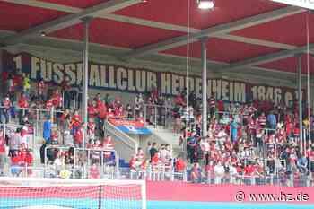 Heimspiele des FCH: Ticket-Vorverkauf beim 1. FC Heidenheim beginnt - Heidenheimer Zeitung