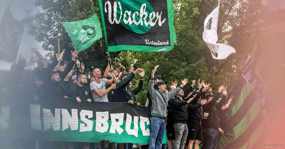 """Heimpremiere mit Fans: Mit der """"Nord"""" kehrt die """"Wacker-Seele"""" zurück - Tiroler Tageszeitung Online"""