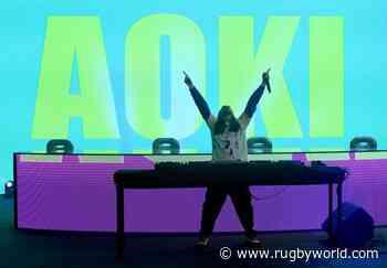 Steve Aoki to DJ at MLR final - Rugby World