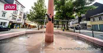 Dillenburg Das Hin und Her um einen Brunnen mitten in Dillenburg - Mittelhessen