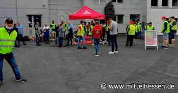 Dillenburg Metaller-Protest in Dillenburg gegen Werksschließung - Mittelhessen