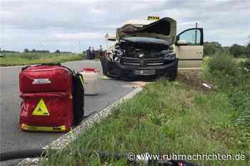 RN+ Mit Video: Rollstuhl-Taxifahrerin und Fahrgast bei Unfall schwer verletzt - Ruhr Nachrichten