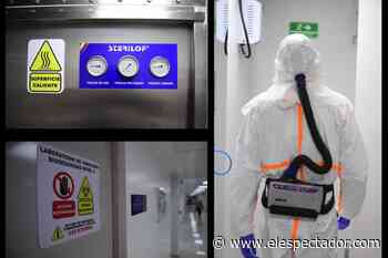 En fotos: primer laboratorio universitario de Colombia para estudiar virus - El Espectador