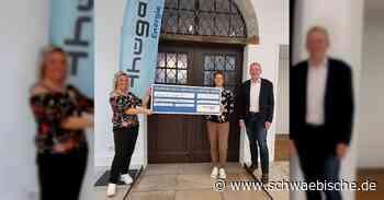 Thüga Energie spendet 2000 Euro an die Bürgerstiftung Kreis Ravensburg - Schwäbische