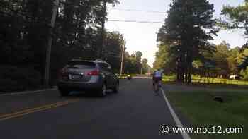 'We see it all too often': Cycling group nearly hit by SUV trying to pass them - WWBT NBC12 News