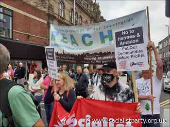 Barnsley 'Big Green Space' protest   The Socialist 28 July 2021 - Socialist Party