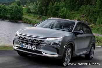 In Pics: Hyundai Nexo FCEV Showcased in India, See Design, Feature, Interior and More - News18